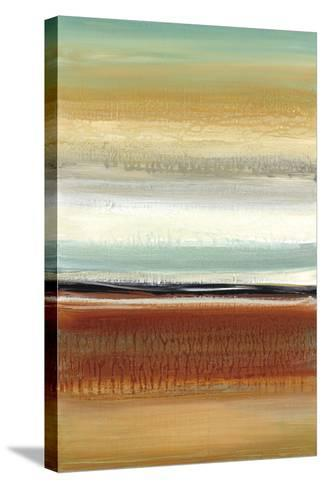 Horizon Lines II-Cat Tesla-Stretched Canvas Print