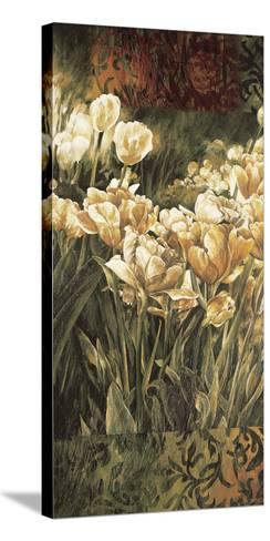Summer Garden I-Linda Thompson-Stretched Canvas Print