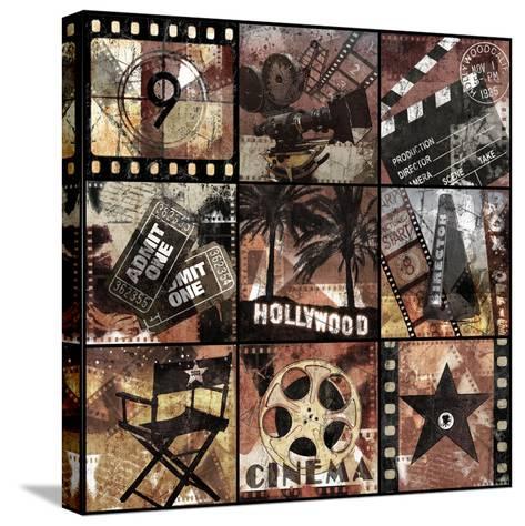 Cinema Treasures-Keith Mallett-Stretched Canvas Print