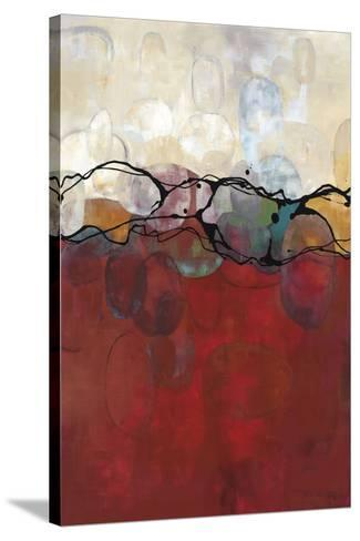 Retro Jewels II-Laurie Maitland-Stretched Canvas Print