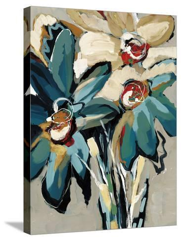 Blooming Blue I-Angela Maritz-Stretched Canvas Print