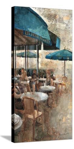 Terraza Café Les Deux Magots-Noemi Martin-Stretched Canvas Print