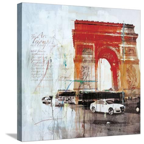 The City of Light II-Markus Haub-Stretched Canvas Print