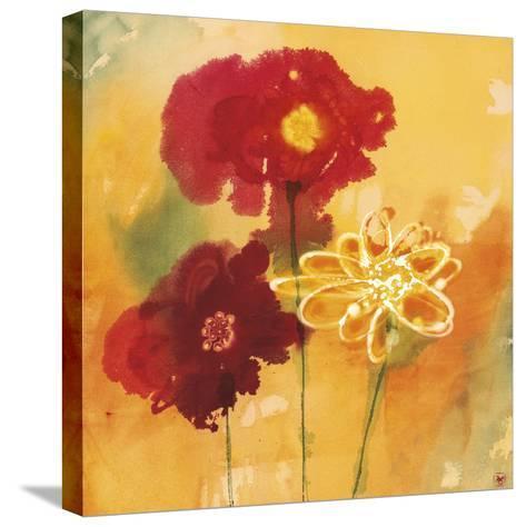 Sunflowers II-Aunaray Carol Clusiau-Stretched Canvas Print