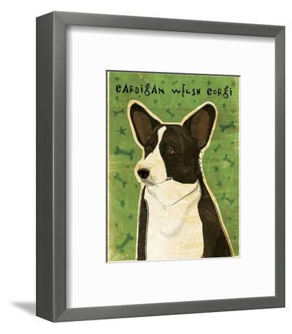 Cardigan Welsh Corgi-John Golden-Framed Art Print