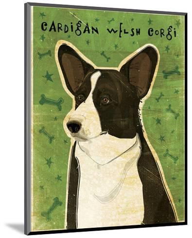 Cardigan Welsh Corgi-John Golden-Mounted Giclee Print