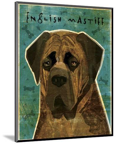 English Mastiff (Brindle)-John Golden-Mounted Giclee Print