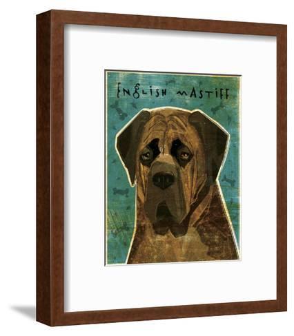 English Mastiff (Brindle)-John Golden-Framed Art Print