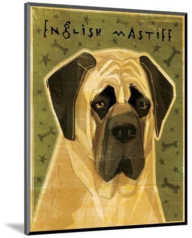 English Mastiff-John Golden-Mounted Giclee Print