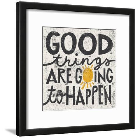 Good Things are Going to Happen-Michael Mullan-Framed Art Print