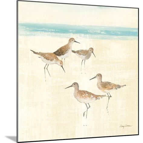 Sand Pipers Square I-Avery Tillmon-Mounted Art Print