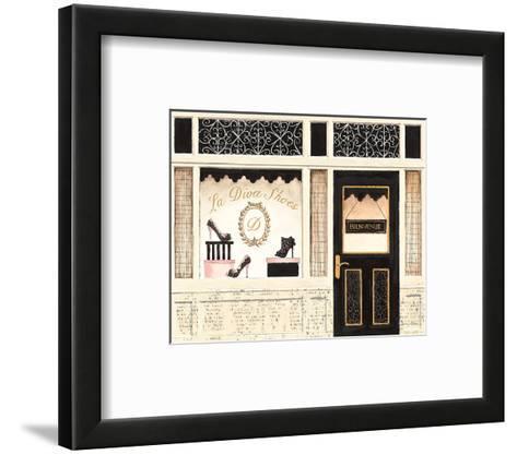 La Diva Shoes-Emily Adams-Framed Art Print