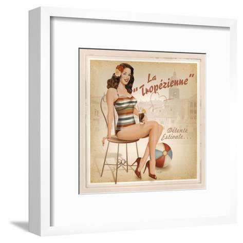 La Tropézienne-Bruno Pozzo-Framed Art Print