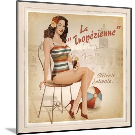 La Tropézienne-Bruno Pozzo-Mounted Art Print