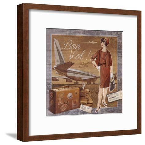 Bon Vol-Bruno Pozzo-Framed Art Print