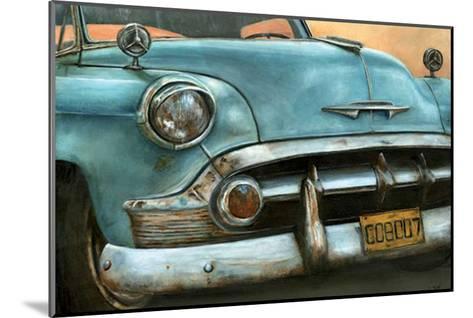 Chevrolet Bel Air Bleue-Cobe-Mounted Art Print