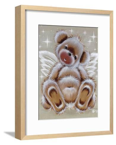 Nounours Ange-Cobe-Framed Art Print
