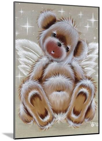 Nounours Ange-Cobe-Mounted Art Print