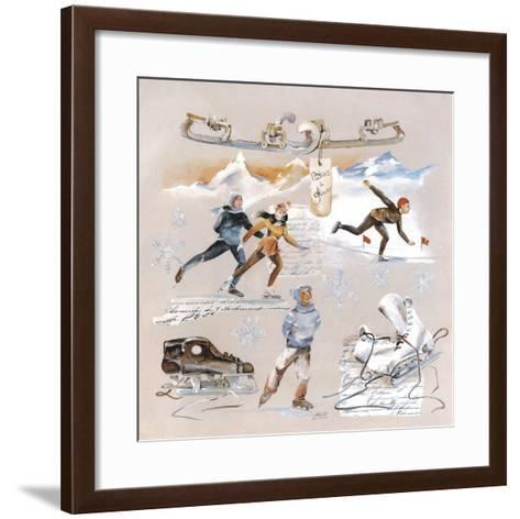 Les Patineurs-Lizie-Framed Art Print