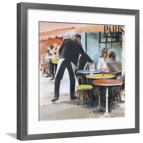 Garçon de Café-Lizie-Framed Art Print