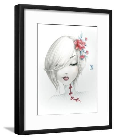 Yoko-Misstigri-Framed Art Print