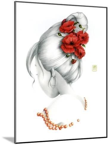 Poppy-Misstigri-Mounted Art Print