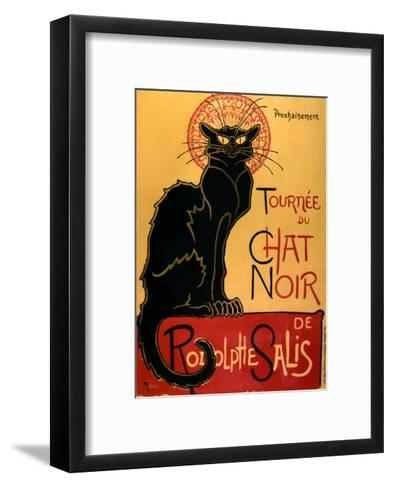 Tourn?e du Chat Noir, c.1896-Th?ophile Alexandre Steinlen-Framed Art Print