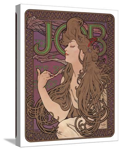 Job, c.1898-Alphonse Mucha-Stretched Canvas Print
