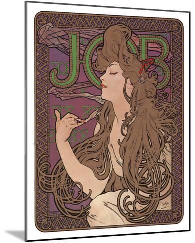 Job, c.1898-Alphonse Mucha-Mounted Art Print