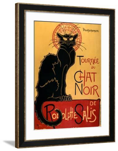 Tourn?e du Chat Noir, c.1896-Th?ophile Alexandre Steinlen-Framed Art Print