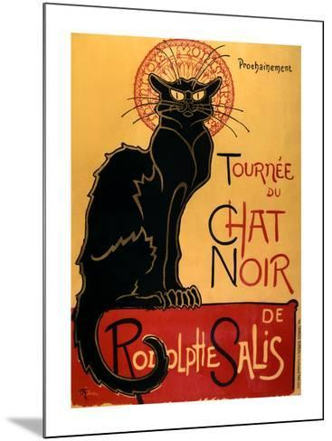 Tourn?e du Chat Noir, c.1896-Th?ophile Alexandre Steinlen-Mounted Art Print