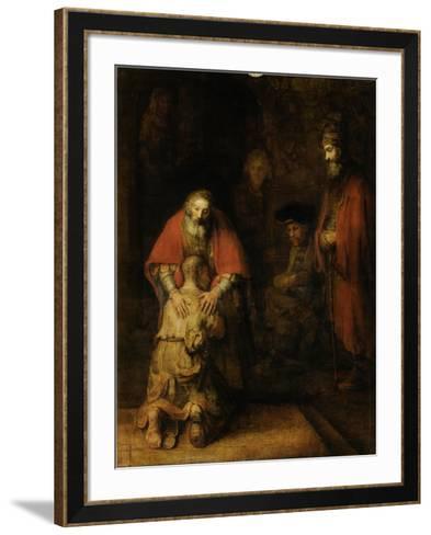 Return of the Prodigal Son, c. 1669-Rembrandt van Rijn-Framed Art Print