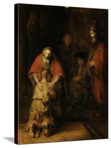 Return of the Prodigal Son, c. 1669-Rembrandt van Rijn-Stretched Canvas Print