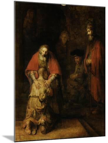 Return of the Prodigal Son, c. 1669-Rembrandt van Rijn-Mounted Art Print
