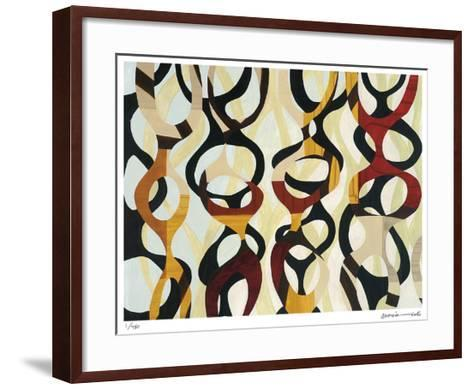 Crown Three-Maria Lobo-Framed Art Print