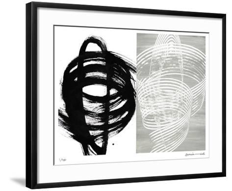 Spin-Maria Lobo-Framed Art Print