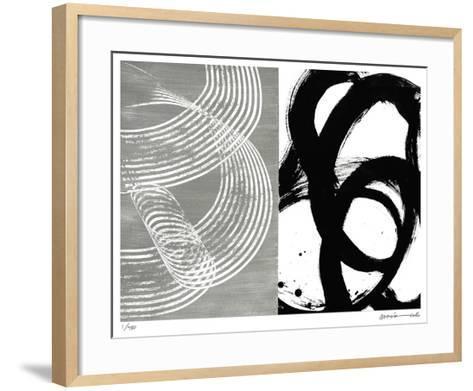 Loop-Maria Lobo-Framed Art Print