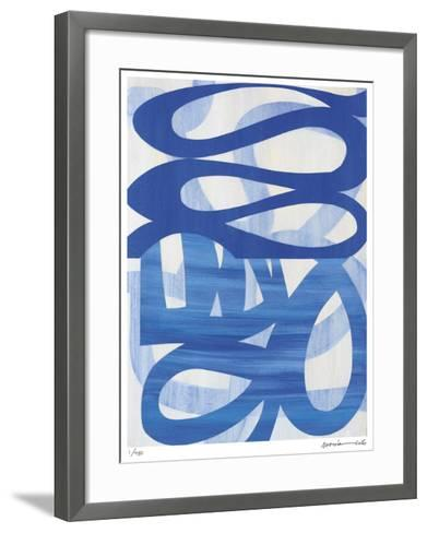 Half and Half 2-Maria Lobo-Framed Art Print