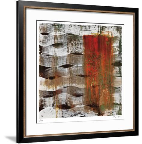 Magma-Lynn Basa-Framed Art Print