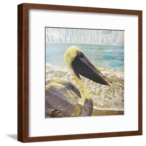 On the Waterfront-Donna Geissler-Framed Art Print