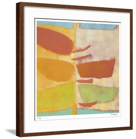 Fresh Slice 1-Katharine McGuinness-Framed Art Print
