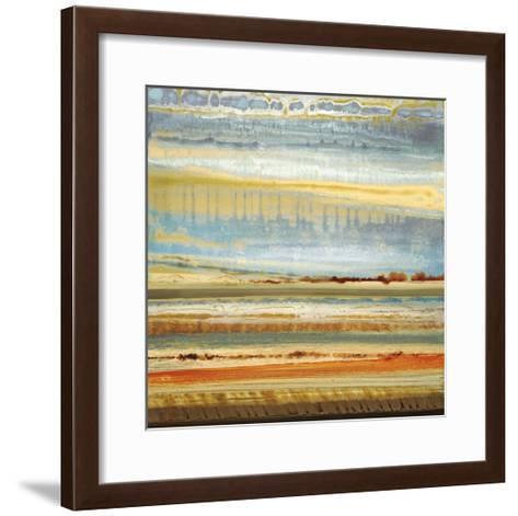 Earth Layers I-Selina Rodriguez-Framed Art Print