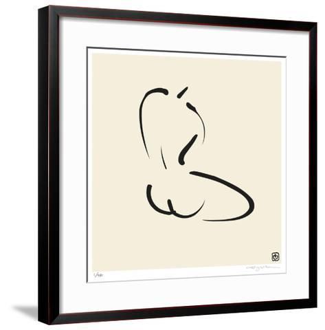 Female, Pose 7-Ty Wilson-Framed Art Print