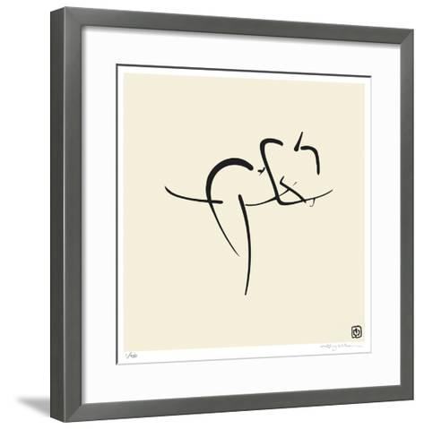 Female, Pose 10-Ty Wilson-Framed Art Print
