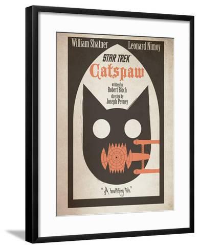 Star Trek Episode 36: Catspaw TV Poster--Framed Art Print