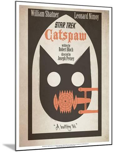 Star Trek Episode 36: Catspaw TV Poster--Mounted Poster