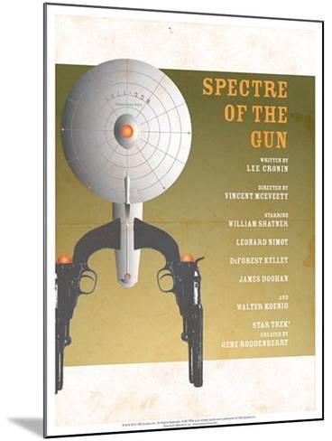 Star Trek Episode 61: Spectre of a Gun TV Poster--Mounted Poster