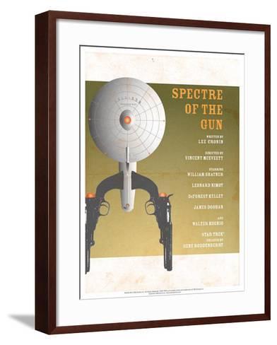 Star Trek Episode 61: Spectre of a Gun TV Poster--Framed Art Print