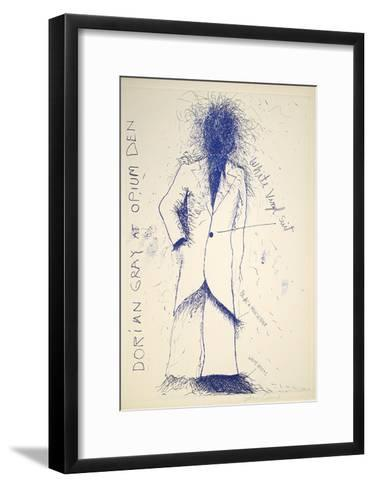 Dorian Gray, Opium-Jim Dine-Framed Art Print