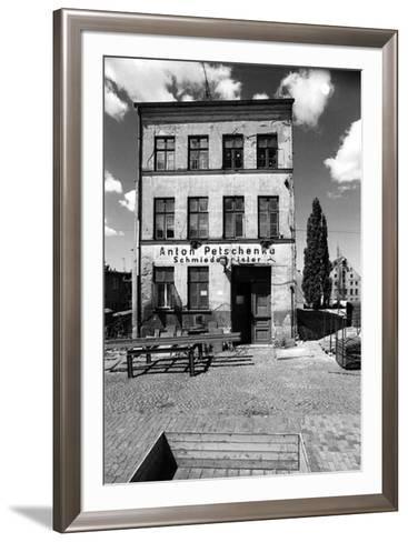 Utopie Rostock Alter Markt-Siegfried Wittenburg-Framed Art Print